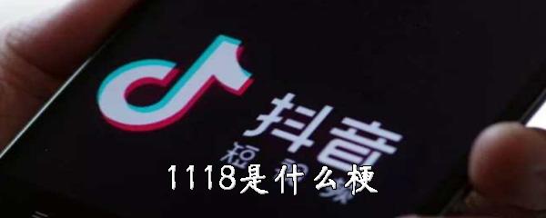 1118是什么梗
